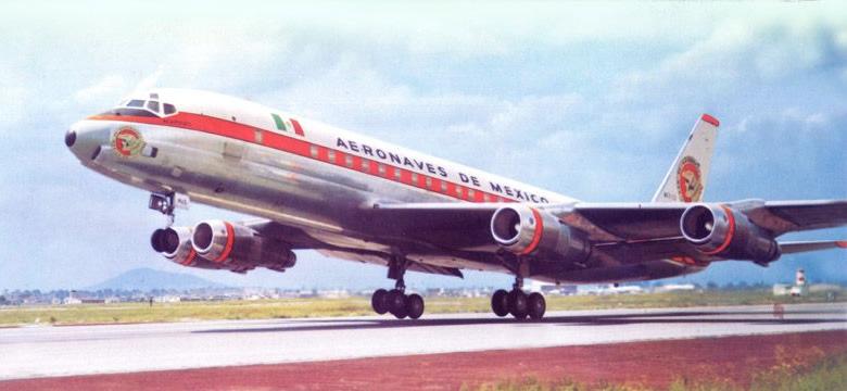 DC-8 de Aeronaves de México