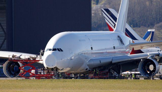 Comienza el adiós del Airbus A380