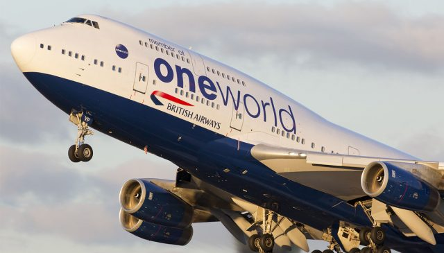 Boeing 747 de British Airways voló de Nueva York a Londres en tan solo 4 horas y 56 minutos