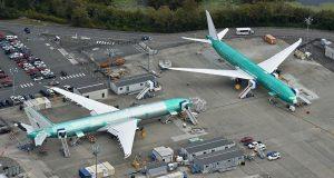 Boeing paraliza la actividad en sus fábricas de Seattle por dos semanas