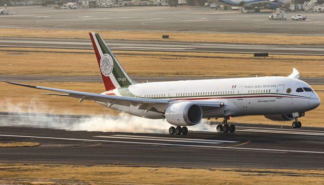El avión presidencial regresa a México en 15 días