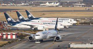 Aeroméxico opera 14 vuelos a Asia en dos días