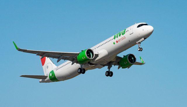VivaAerobus recibe su primer A321neo