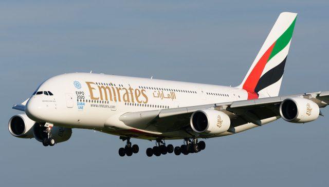 Regresa el A380 de Emirates a los cielos