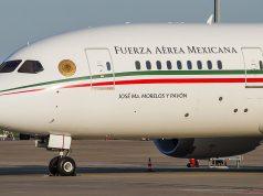 Después de casi 600 días en EU regresa el avión presidencial a México