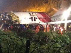 Avión de Air India Express se estrella durante el aterrizaje